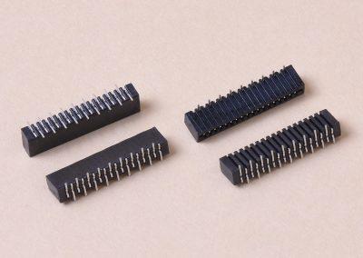 1.0mm双排母座贴片式