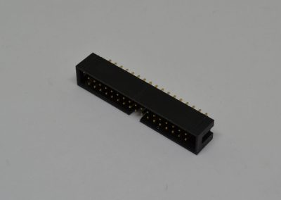1.0mm双排母插