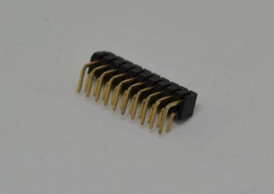 2.54mm双排弯针
