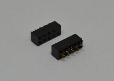 2.0mm双排母插