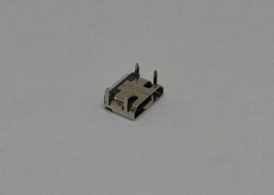 HDMI FEMALE 贴片定位式