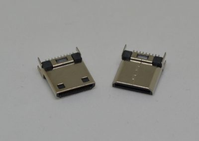MINI HDMI MALE 夹板式