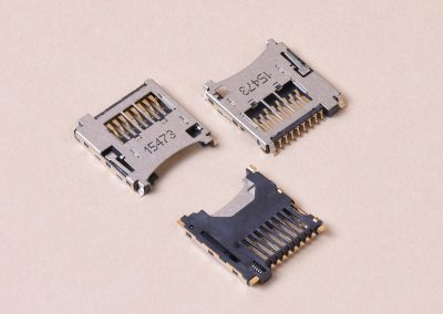 Micro SD Card Socket Push To Push