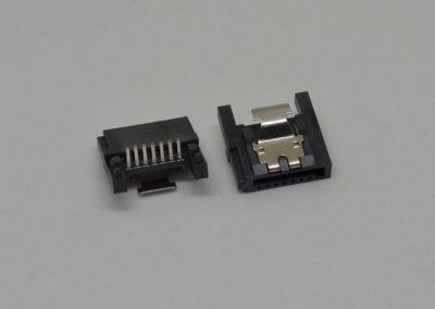 SATA 7P 焊线式 90度
