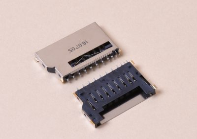 SD Card Socket Short No Push